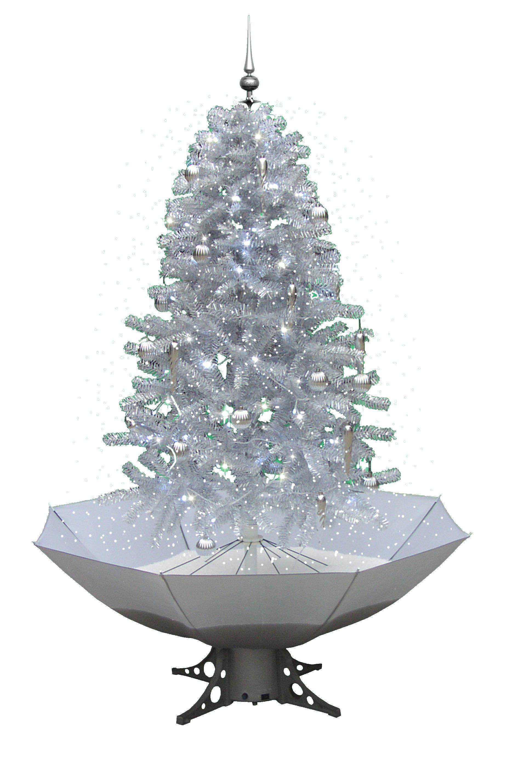 weihnachtsbaum mit schneefall 170 cm schneiender. Black Bedroom Furniture Sets. Home Design Ideas