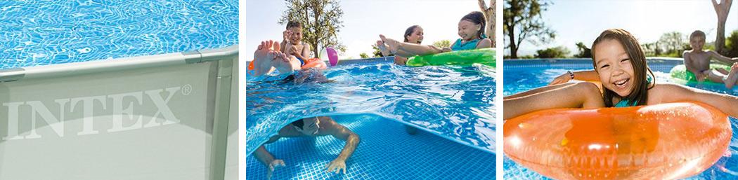 Frame zwembad Intex - de beste bovengrondse zwembaden