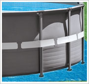 Intex Ultra Frame Pool / Tapis de sol inclus
