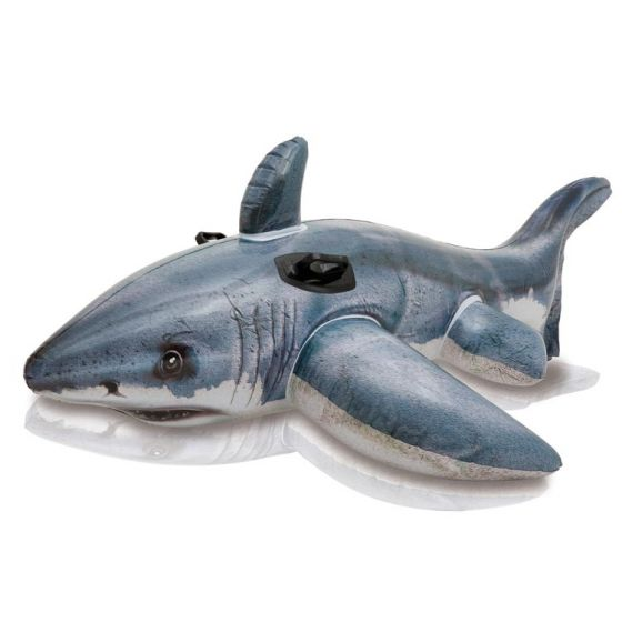 INTEX™-Requin-Blanc-gonflable
