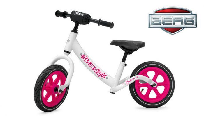 BERG-Biky-Vélo-sans-pédales-Blanc-/-Rose
