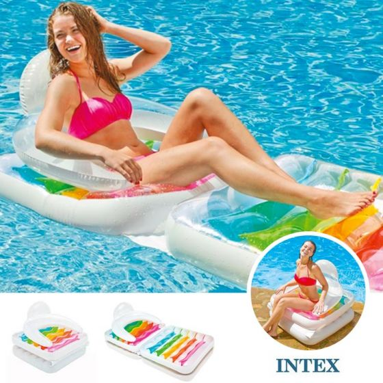 INTEX™-Fauteuil-de-piscine-Convertible