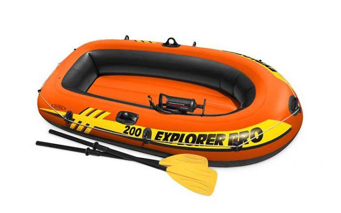 INTEX™-Set-Bateau-gonflable-Explorer-Pro200