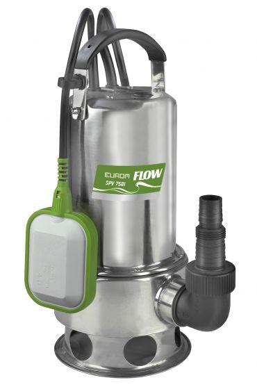 Pompe-pour-eau-claire-/-pompe-à-eaux-chargées-Eurom-SPV750I