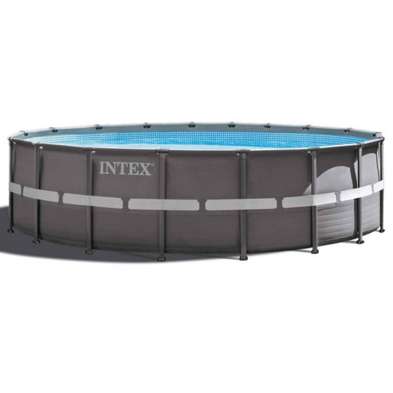 Kit-Piscine-Intex™-Ultra-Frame-Ø-5.49-x-1.32m-(Incl.-filtre-à-sable)