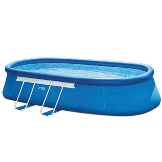 Kit-piscine-Intex™-Oval-Frame-5.49-x-3.05m