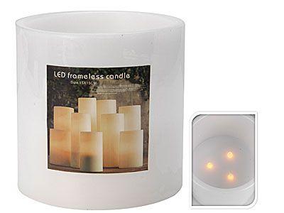 Bougie-à-éclairage-LED
