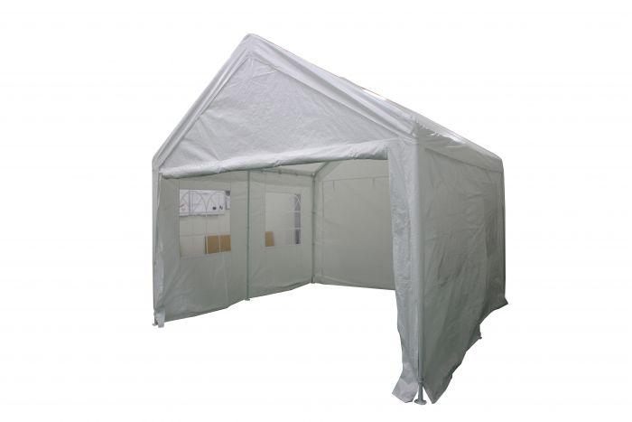 Tente-de-réception-3x4-mètres-blanc-avec-parois-latérales-Pure-Garden-&-Living