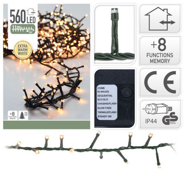 Guirlande-lumineuse-en-grappe-led-560-ampoules---11-mètres