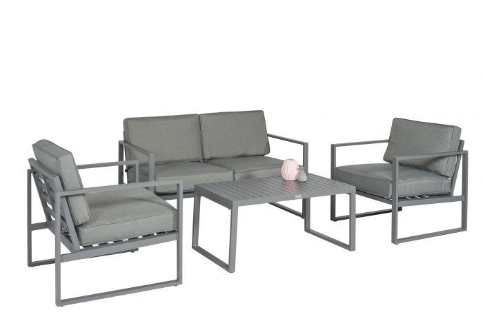 Ensemble-lounge-Canapé-d'angle-aluminium-