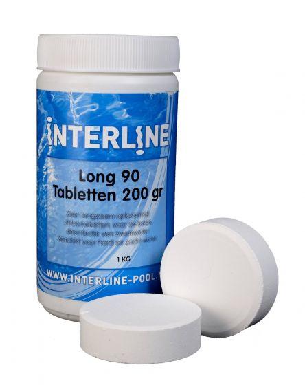 Comprimés-de-chlore---Interline-longue-90---200-grammes-(1-kg)