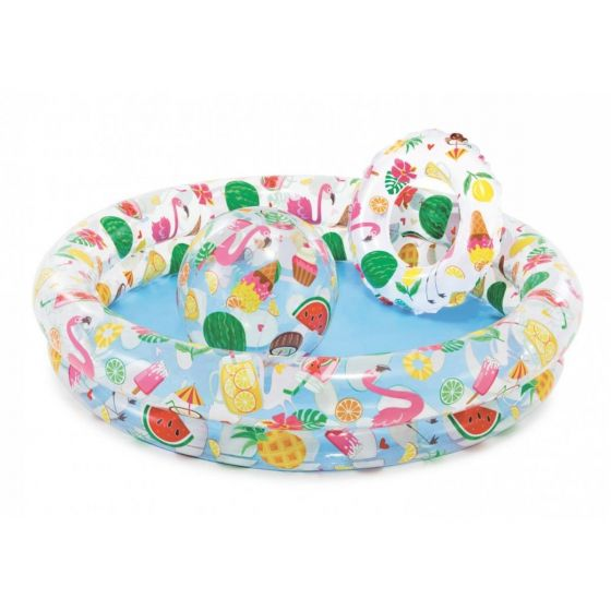 Piscine-gonflable-pour-enfants-Intex---Just-So-Fruity