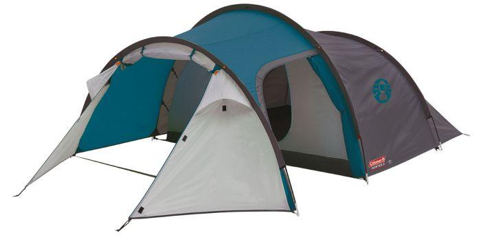 Tente-de-camping-Coleman-Cortes-3-Bleu-/-Tente-tunnel