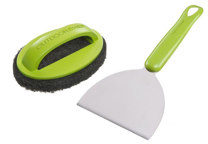Set-de-nettoyage-plaques-de-cuisson-Outdoorchef,-2-pièces