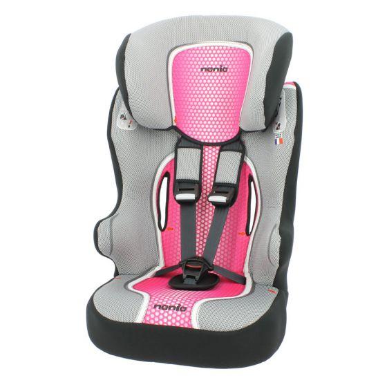 Siège-auto-Nania-First-Racer-Pop-Pink-1/2/3