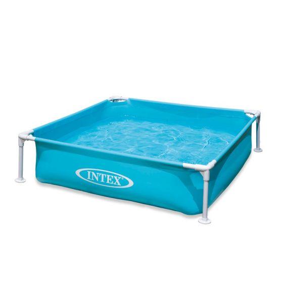 Mini-piscine-INTEX™---bleue---122-x-122-cm