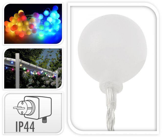 Éclairage-80-LED-Multicolores