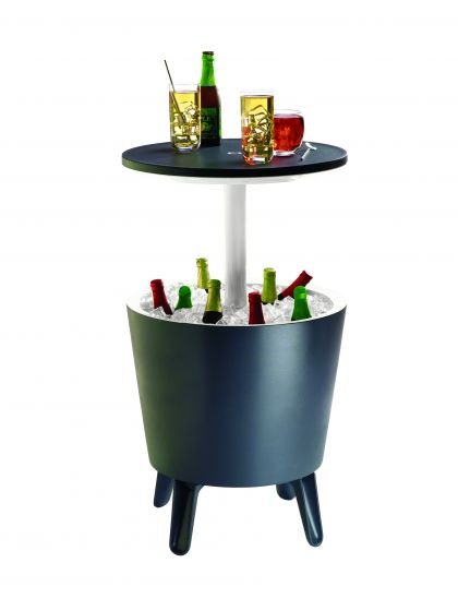 Keter-Cool-Bar,-table-d'appoint-et-glacière-2-en-1