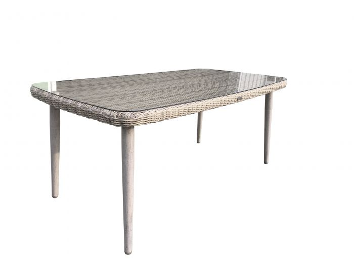 Table-de-jardin-en-résine-tressée-