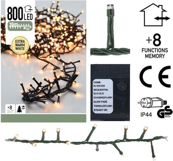 Micro-guirlande-lumineuse-en-grappe-800-ampoules-LED-Blanc---16-mètres