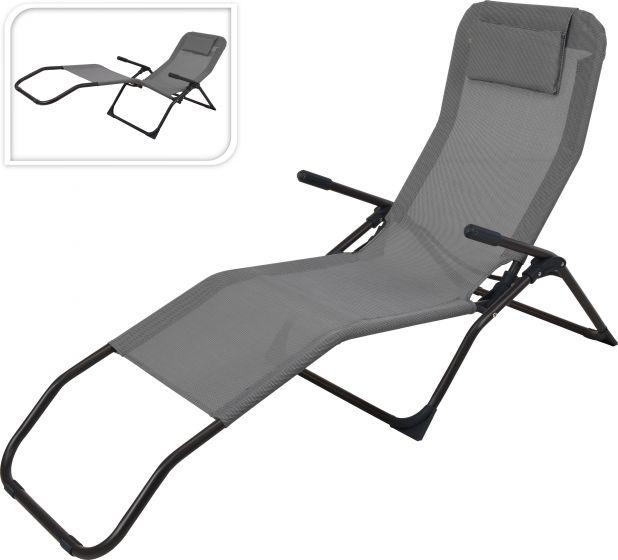 Chaise-de-jardin-Siesta-Lounger-Gris-foncé