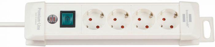 Brennenstuhl-Premium-4-prises-Blanc-1,8M