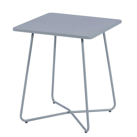 Table-métal-gris-clair-mat