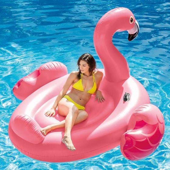 île-INTEX™---Mega-flamingo