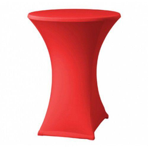 Housse-de-table-haute-rouge