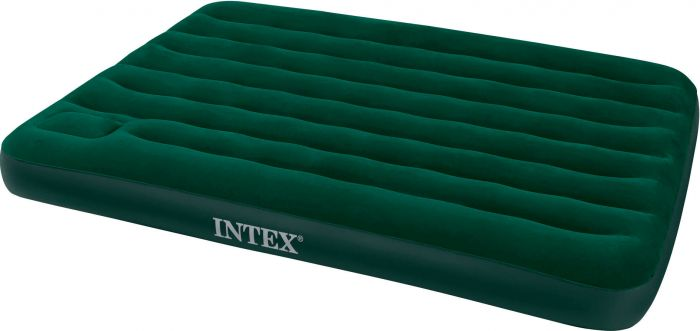 Matelas-gonflable-avec-pompe-à-pied-Intex-Prestige-Downy-Full---2-personnes