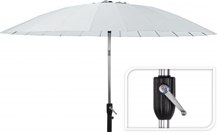Parasol-Shanghai-Blanc-rond-Ø-270-cm
