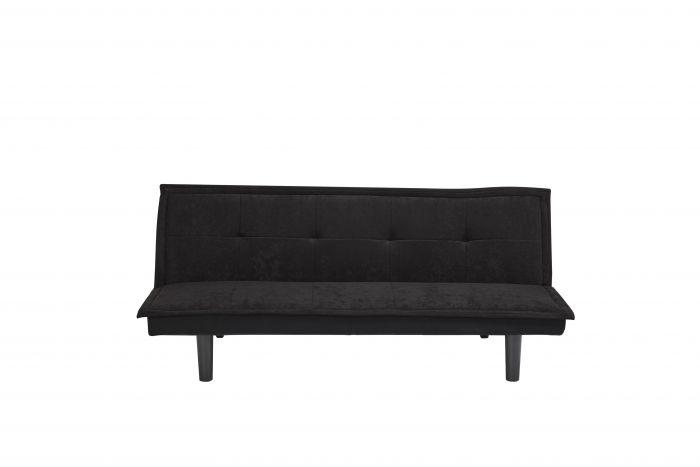 Canapé-lit-1-personne-Napels-noir