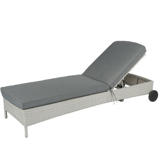 Chaise-longue-en-résine-tressée-à-roues-