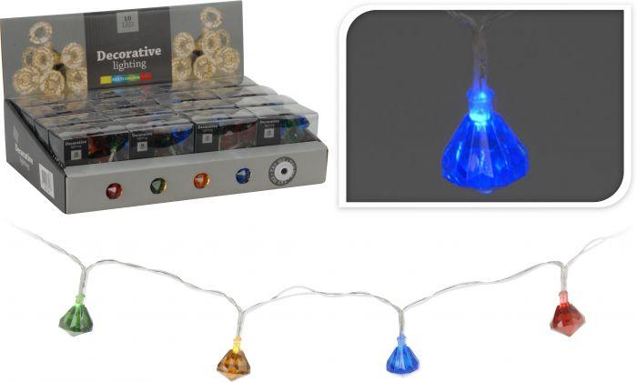 Éclairage-LED-10-ampoules-multicolores