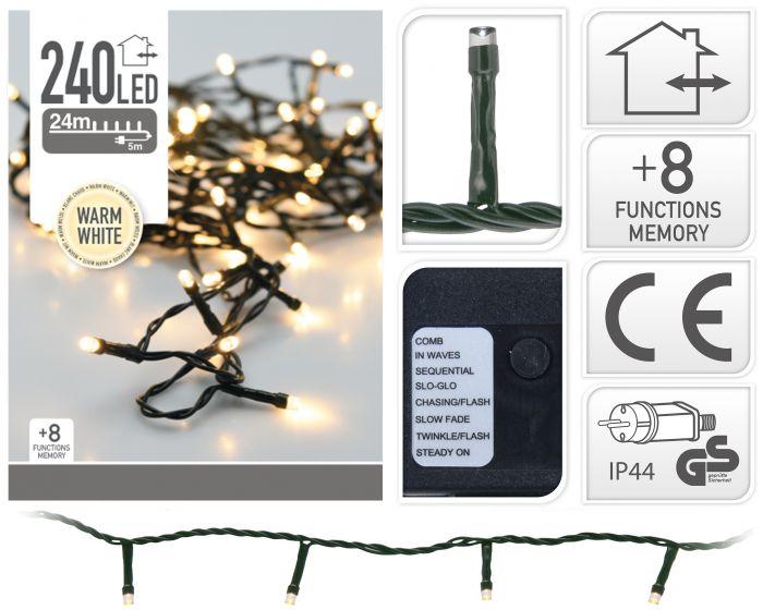 Éclairage-led-240-ampoules-LED-blanc-chaud