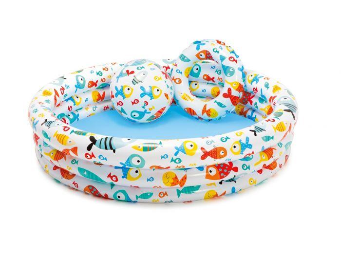 Piscine-pour-enfant-INTEX™---Fishbowl-pool-set