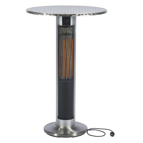 Table-haute-avec-un-radiateur