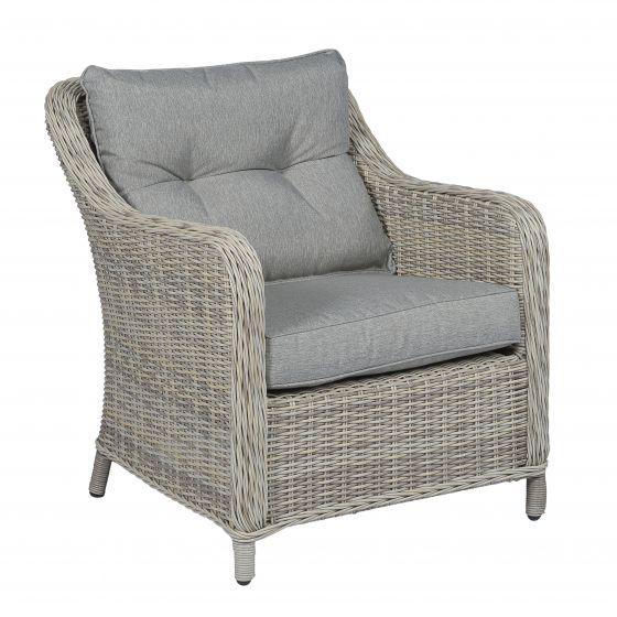 Chaise-de-jardin-résine-tressée-