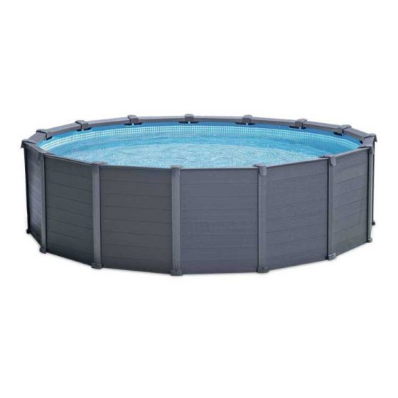 Kit-Piscine-Intex™-Graphite-Panel-Ø-4.78-x-1.24m