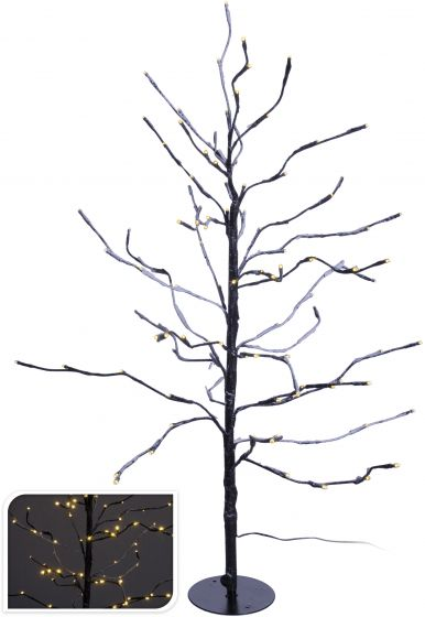 Arbre-LED-marron-112-ampoules---90-cm