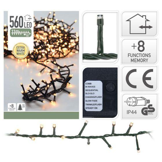 Micro-guirlande-lumineuse-en-grappe-560-ampoules-LED-Blanc---11-mètres