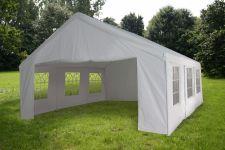 Chapiteau-5x5m-PE-160-gr/m2-blanc-avec-bâches-latérales