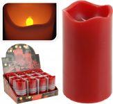 Bougie-led-avec-minuterie-7x13-cm-rouge