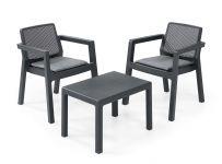 """Table-et-chaise-balcon-""""Emily""""-de-Keter-2-personnes"""