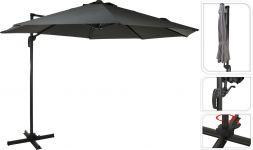 """Parasol-pendant-""""Elba""""-Ø300-cm---Gris"""