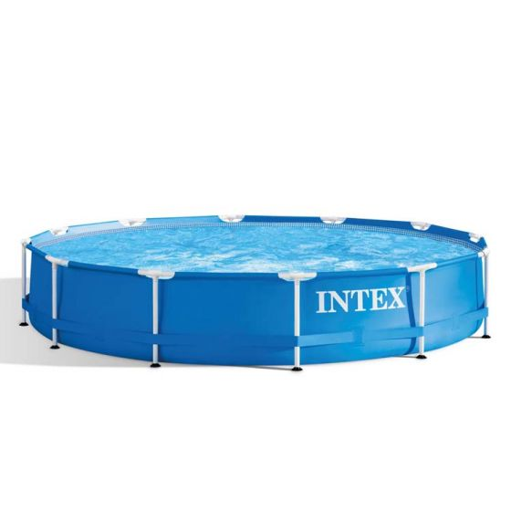 Piscine-Intex™-Metal-Frame-Ø-3.66-x-0.76-m