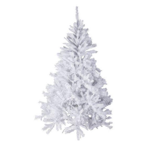 Sapin-de-Noël-150cm-Luxe-blanc