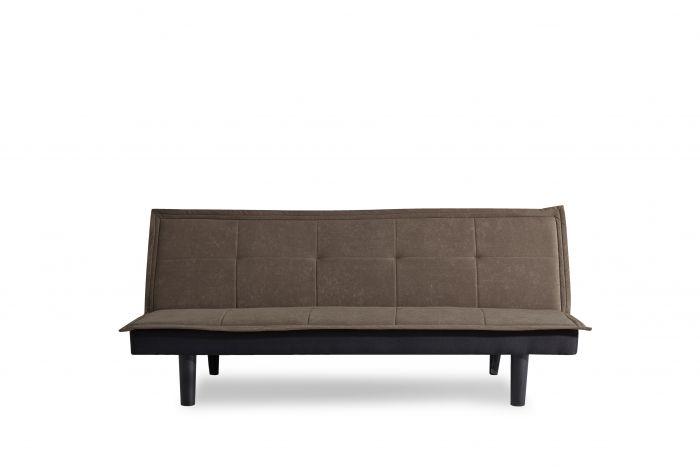 Canapé-lit-1-personne-Napels-marron