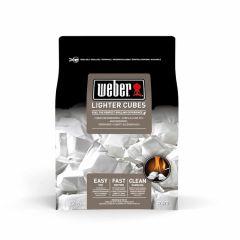 Blocs-allume-feu-Weber,-22-pièces,-blancs