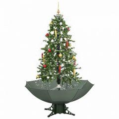 Sapin-de-Noël-Simulation-chute-de-neige---Vert---170cm